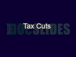 Tax Cuts & Jobs Act –
