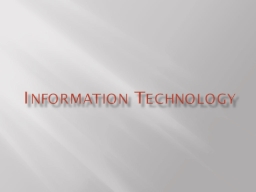 Information Technology Internet Acceptable Use