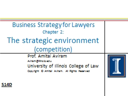 Business Strategy for Lawyers