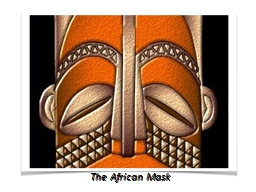 The African Mask The Function of an African Mask