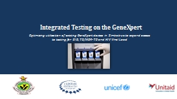Integrated Testing on the PowerPoint PPT Presentation