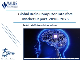Brain Computer Interface Market Share, Global Industry Analysis Report 2018-2025