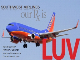 Southwest Airlines Yulia