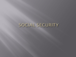 SOCIAL SECURITY Mandatory spending vs. discretionary spending