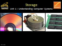 Storage Unit 1 – Understanding Computer Systems