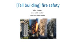 [Tall building]  fire  safety