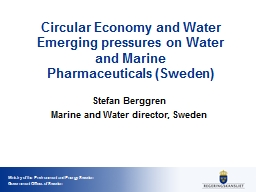 Circular  Economy and  Water