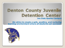 Denton County Juvenile Detention Center