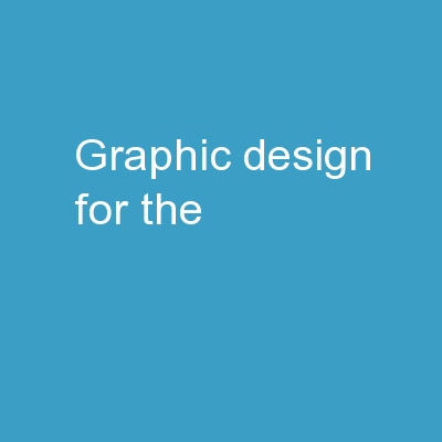 Graphic design  for the