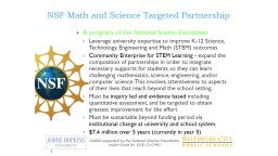 SABES Overview SY16-17  SABES supported by the National Science Foundation under Grant No. DUE-1237