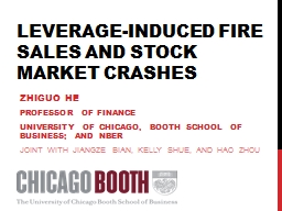Leverage-Induced  Fire Sales and