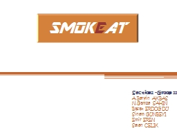 SMOK E AT Section2 - Group 11