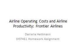 Airline Operating Costs and Airline