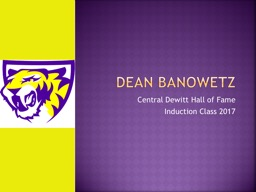 Central Dewitt Hall of Fame