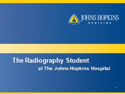 1 The Radiography Student