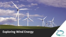 Exploring Wind Energy What Makes Wind