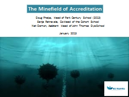 The Minefield of Accreditation