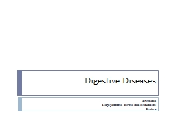 Digestive Diseases Shigellosis PowerPoint PPT Presentation
