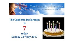 The Canberra Declaration