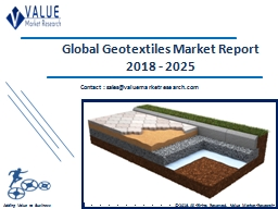 Geotextiles Market Share, Global Industry Analysis Report 2018-2025