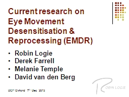Current research on  Eye PowerPoint PPT Presentation