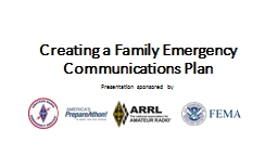 Creating a Family Emergency Communications Plan