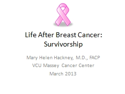 Life After Breast Cancer: