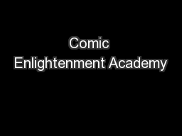 Comic Enlightenment Academy