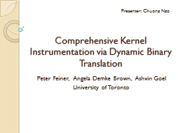 Comprehensive Kernel Instrumentation via Dynamic Binary Translation