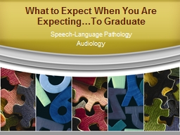 What to Expect When You Are Expecting…To Graduate PowerPoint PPT Presentation