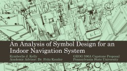 An Analysis of Symbol Design for an Indoor Navigation System