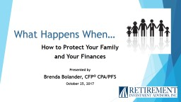 What Happens When… How to Protect Your