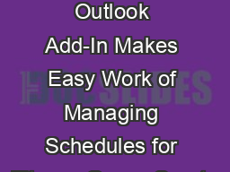 Booklet365 Office 365 Outlook Add-In Makes Easy Work of Managing Schedules for Fitness Gyms, Sports