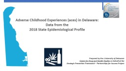 Adverse Childhood Experiences (aces) in Delaware: