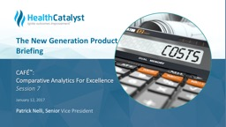 CAFÉ ™ :  Comparative Analytics For Excellence