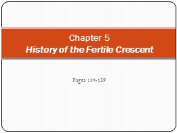 Pages 114-139 Chapter 5 PowerPoint PPT Presentation