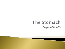 The Stomach Pages 466-469