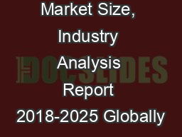 Roofing Market Size, Industry Analysis Report 2018-2025 Globally