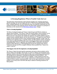 A deeming regulation