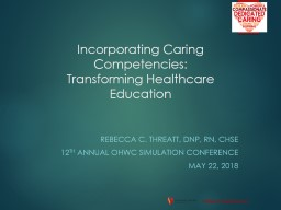 Incorporating Caring  Competencies