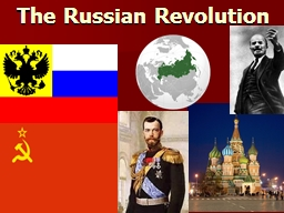 The Russian Revolution Essential Question