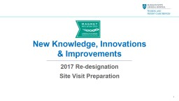 New Knowledge, Innovations