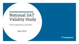 National SAT Validity Study
