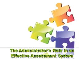 The Administrator's Role in