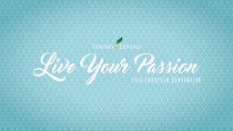 ACEITE ESENCIAL LIVE YOUR PASSION PowerPoint PPT Presentation