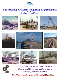 Fabrication, Erection, Operation & Maintenance