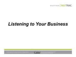 Listening to Your Business
