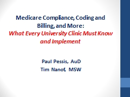 Medicare  Compliance, Coding