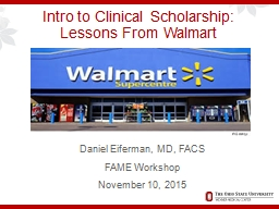 Intro to Clinical Scholarship: PowerPoint Presentation, PPT - DocSlides