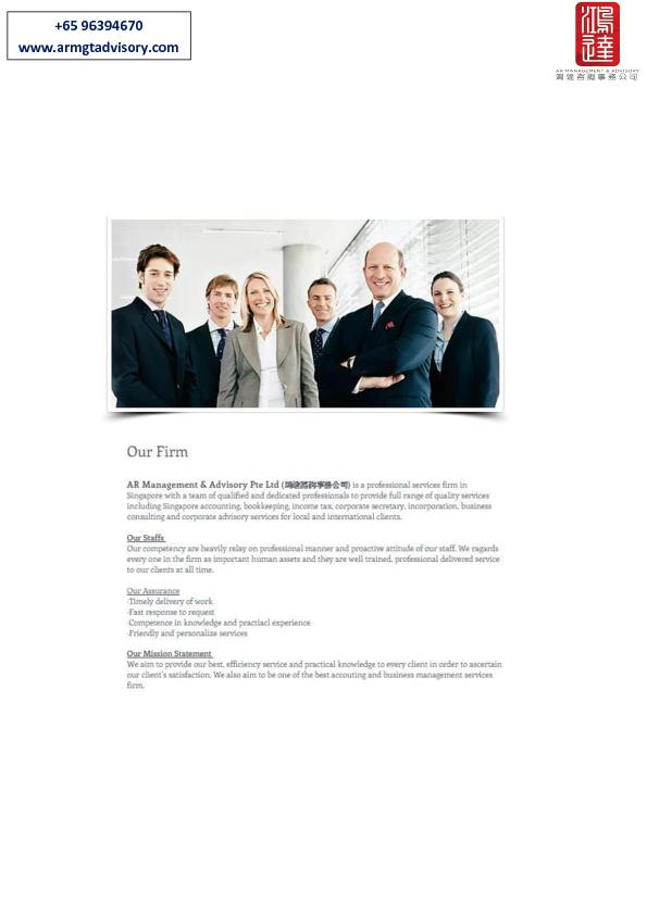 Corporate Advisory Services in Singapore
